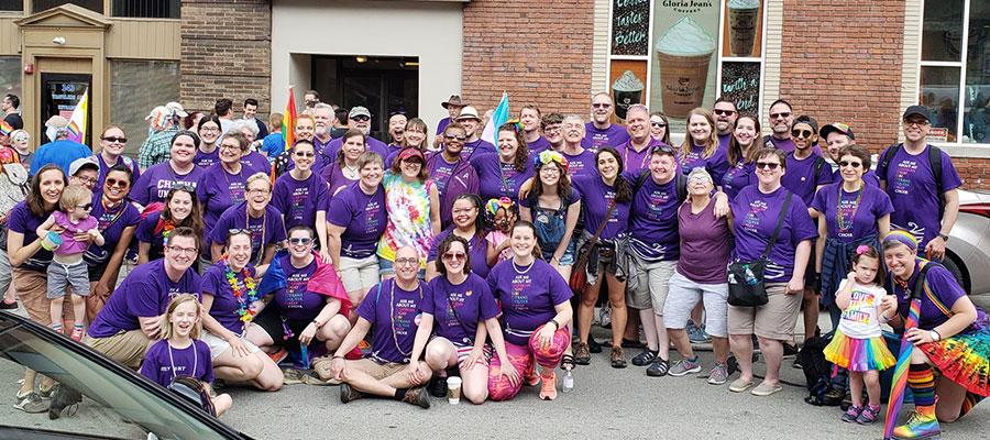 Renaissance City Choir at Pride Parade
