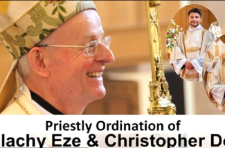 Thumbnail for the post titled: Ordination of Deacon Malachy Eze and Deacon Chris Doig