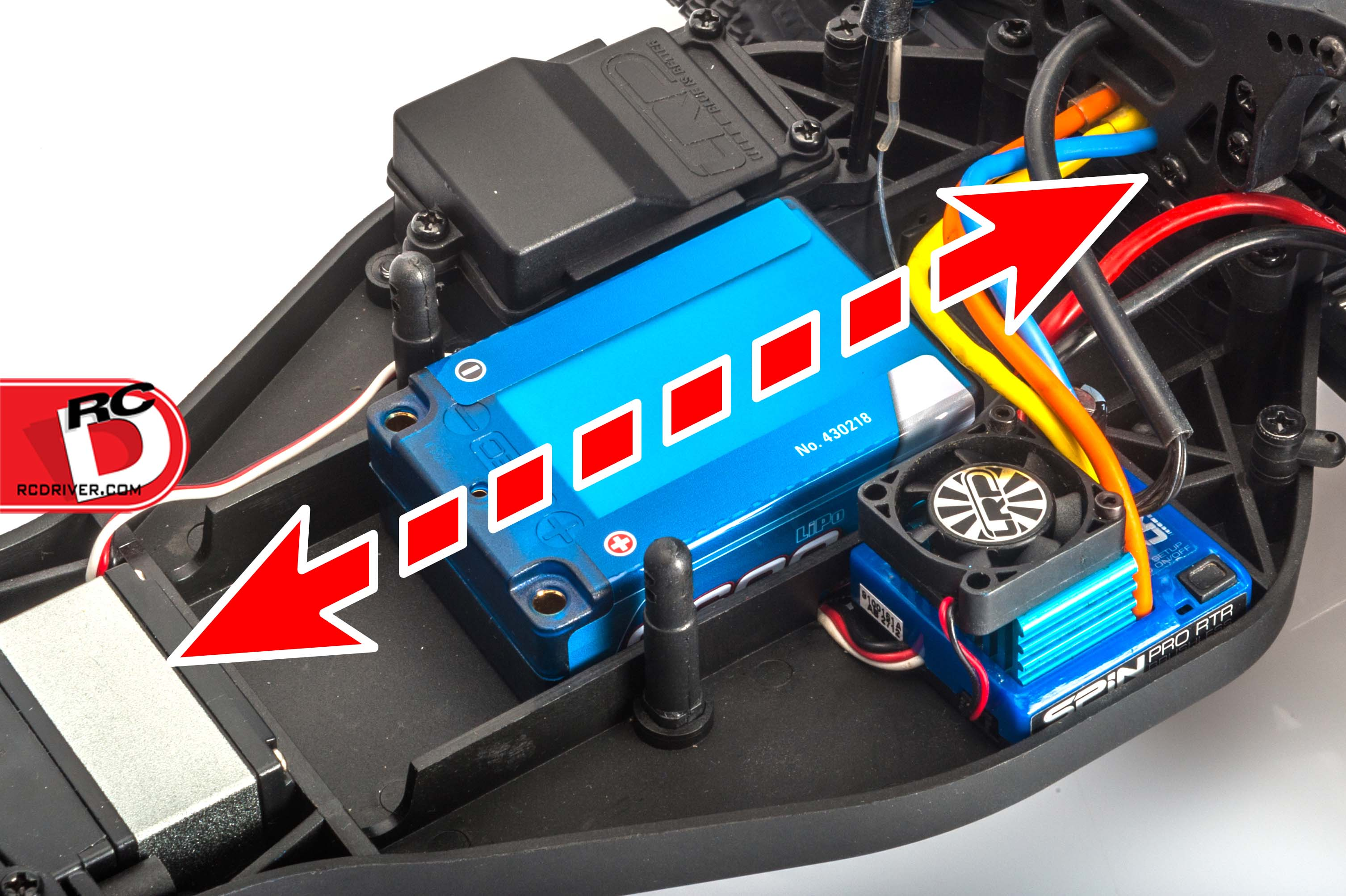 Lrp Super Shorty Lipo Battery Pack