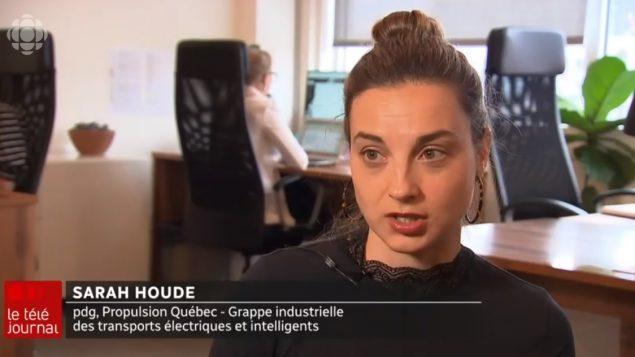 """سارة هود، الرئيسة التنفيذية لجمعية """"بروبلسيون كيبيك"""" - Radio Canada"""