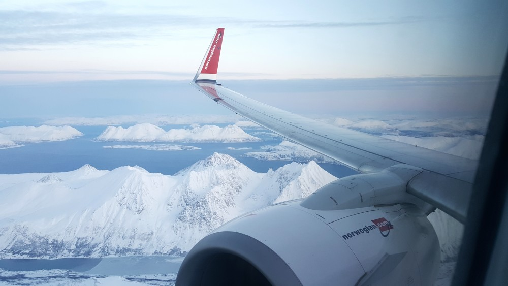 Resultado de imagen para route transpolar Norwegian Air