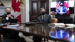 Trudeau parle vaccins, Arabie Saoudite et Keystone XL à Meet the Press sur NBC