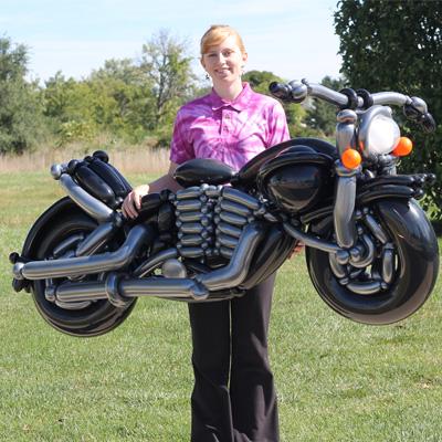 Balloon Harley Davidson