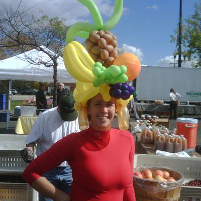Tropical Fruit Hat