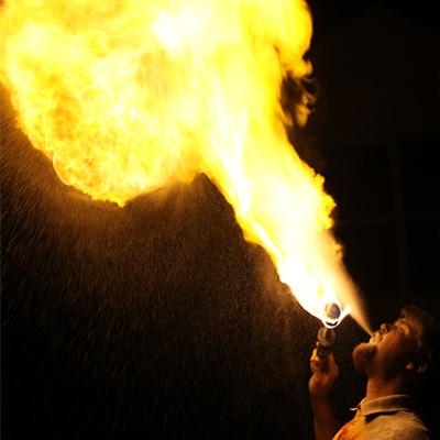 Ryan Breathing Fire