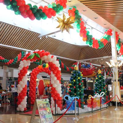 Gurnee Mills Mall Christmas Photo Booth 2014