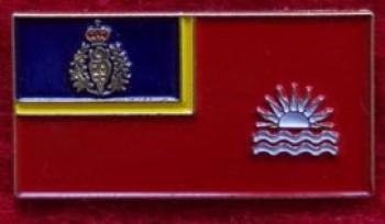 "RCMP ""E"" Division Ensign lapel pin - $3.50"