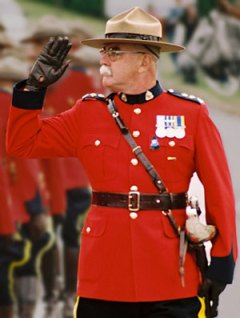 Photograph of Retired Supt. Ric Hall - RCMP