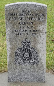 photograph of C/S/M Tim Griffin's grave marker