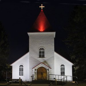"Photograph of the RCMP ""Depot"" Division Chapel in Regina (Source of photo - Sheldon Boles)"