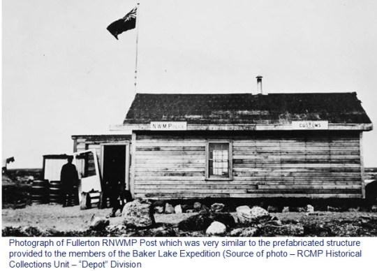 Photograph of Fullerton RNWMP Post