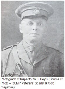 Photograph of Inspector Walter Beyt of the RNWMP
