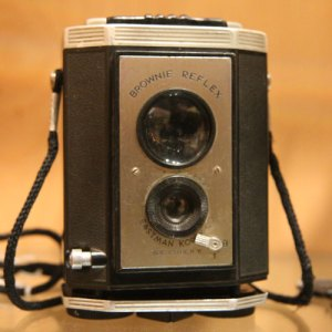Photograph of an old camera