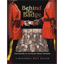 """Photograph of the book entitled """"Behind The Badge"""""""