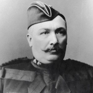 Photograph of Sam Steele of the North-West Mounted Police (Source of photo - RCMP Veterans' Association - Vancouver Division)