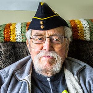 Photograph of RCMP Veteran George Cutting