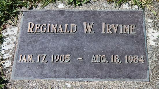 Reginald_Irvine