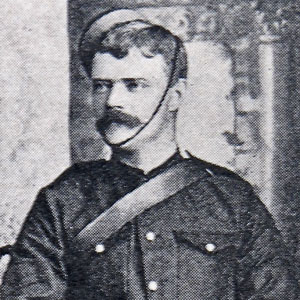 Photograph of Willoughby Charles Bryan as a member of the NWMP (Source of photo - Vancouver Division - RCMP Veterans' Association)