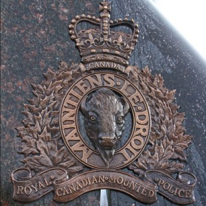 memorial RCMP Crest