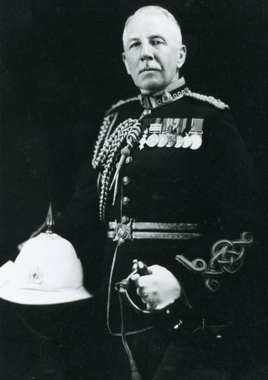 "Photograph of Deputy Commissioner George Jennings (Source of photo - RCMP Historical Collections Unit - ""Depot"" Division)."