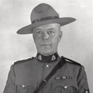 Photograph of RCMP Staff Sergeant Gordon Ellwyn (Source of photo - Jan Deptuck)