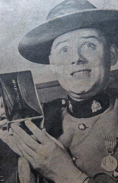 Photograph of RCMP Corporal Garry Frazer.