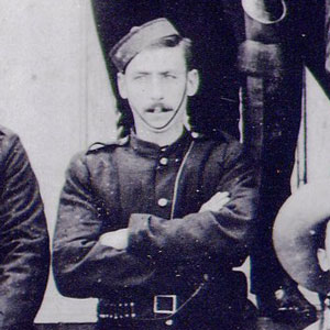 Photograph of a NWMP member