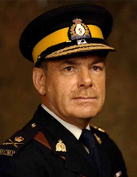 Photograph of RCMP Commissioner