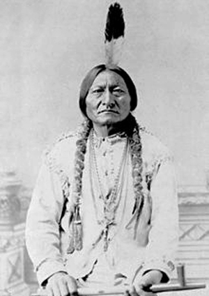 Photograph of Sitting Bull.