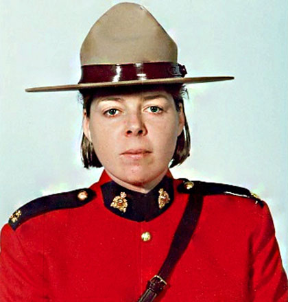 Photograph of Constable Christine Diotte (Reg.#   )