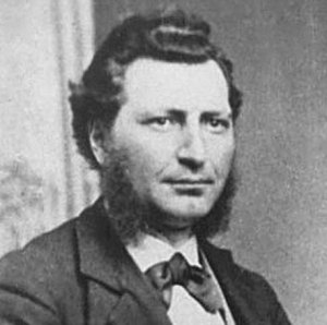 1876 - Photograph of Louis Riel.