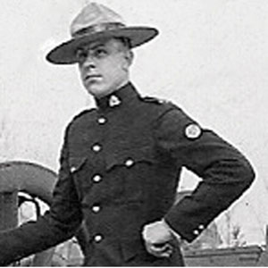 Photograph of Cpl. Tom Raisbeck