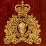 RCMP Crest Cremation Box