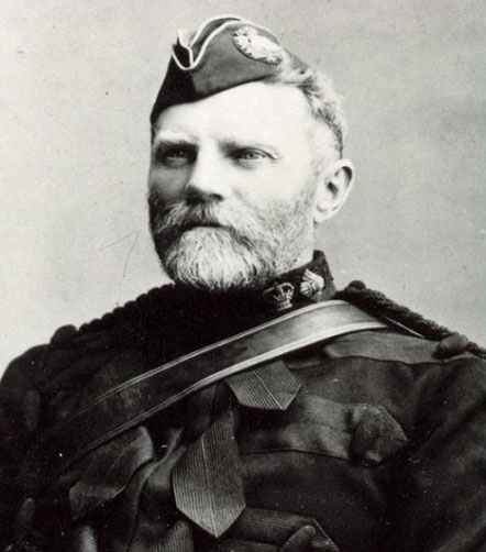 Photograph of NWMP Commissioner Lawrence Herchmer.