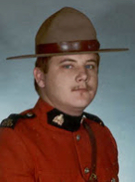 Photograph of RCMP Constable Gerry Breese (Source of photo - wife of Gerry Breese).