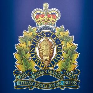 Photograph of the RCMP Veterans' Association Crest (Source of photo - Sheldon Boles).