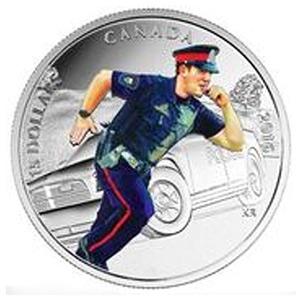 police hero coin