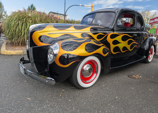 Langley Show and Shine Car Show - taken by Sheldon Boles