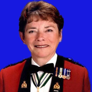 Photograph of Retired RCMP Commissioner Bev Busson.