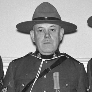 Photograph of unknown RCMP member
