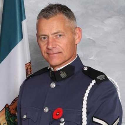Constable Davidson of the Abbotsford Police Department
