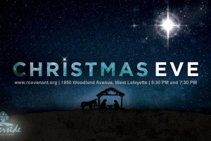Christmas Eve Worship at 5:30pm and 7:30pm
