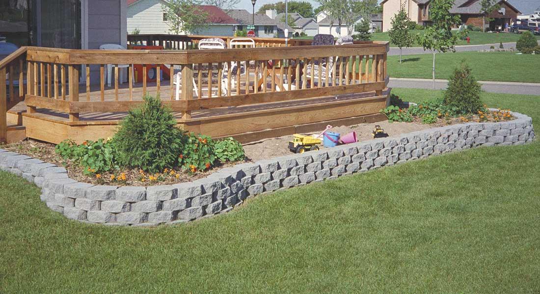 Keystone Retaining Wall Blocks Garden Wall Rcp Block Brick