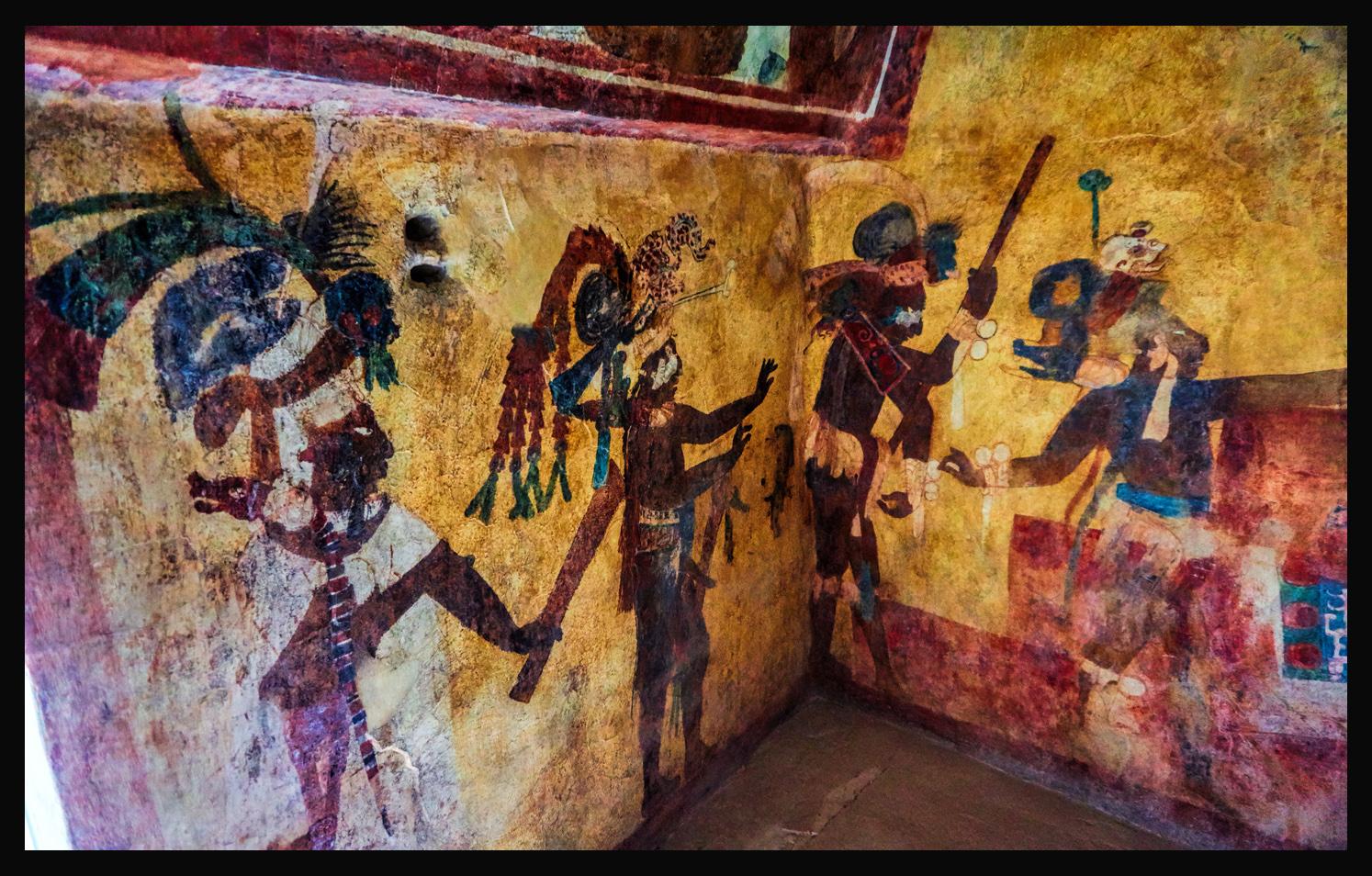 Mayan Murals of Bon&ak & The Amazing Mayan Murals of Bonampak - rcquinn.com