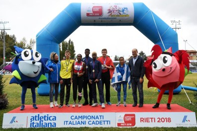 Jeff Erius au Festival Européen du sprint, Rieti/Ita 6-7 oct 2018