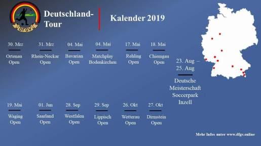 Deutsch Tour Footballgolf Kalender