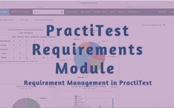 PractiTest Requirements Module - Requirement Management