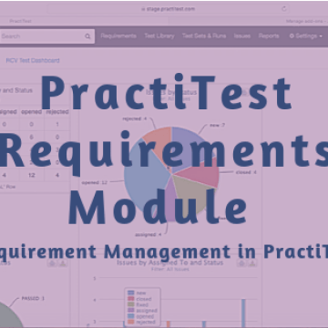 PractiTest Requirements Module - Requirement Management