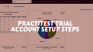 PractiTest Trial Account setup Steps