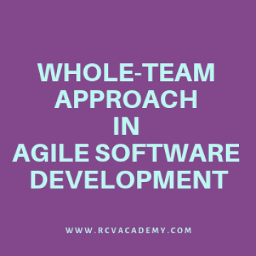 Whole-Team Approach in Agile Software Development